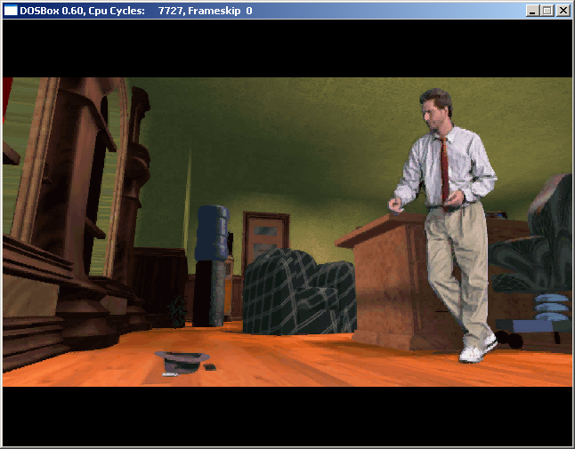 DOSBox, an x86 emulator with DOS