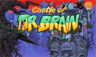 GAME Castle of Dr Brain Title.png